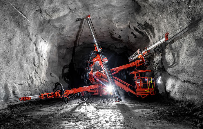 DT1132i tunnelling jumbo launched by Sandvik