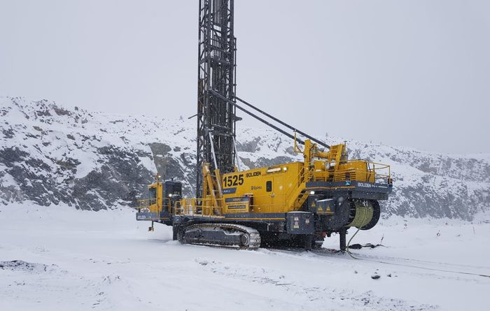World-first for electric autonomous drilling at Aitik