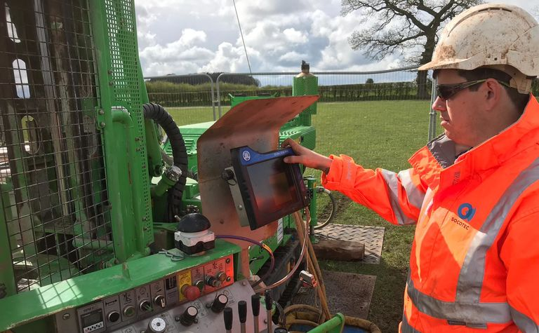 Socotec invests in the latest drilling parameter recording equipment