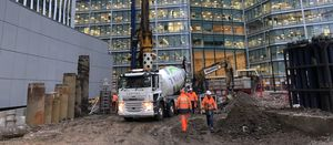 Keltbray offers Earth Friendly Concrete in temporary works solutions