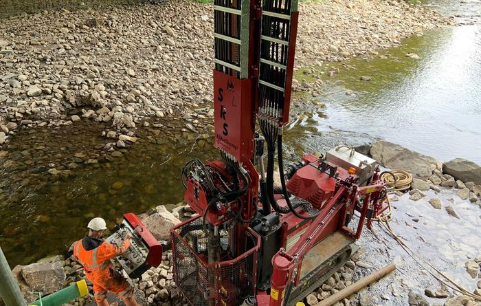 Live demonstrations of an Eijkelkamp SonicSampDrill SmallRotoSonic drill rig will be taking place at Geotechnica