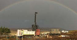 GeoSonic Drilling on the A9 dualling ground investigations