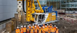 Firsts and records for Keltbray at piling project in UK capital