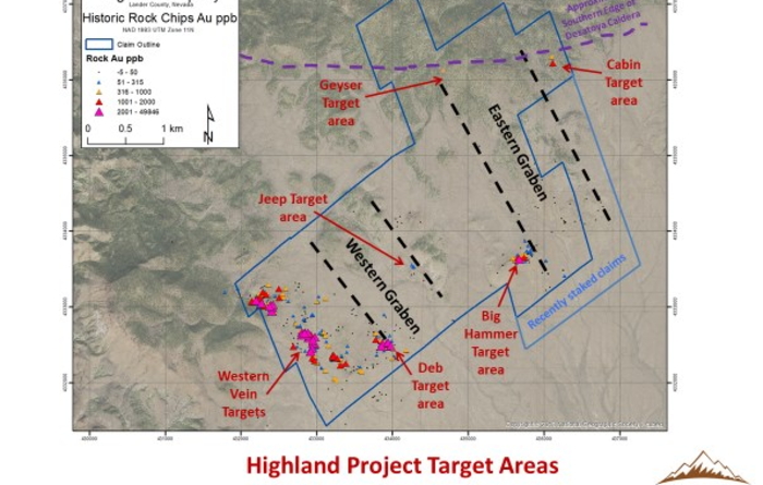 Bravada commences 2020 work programme at the Highland gold/silver