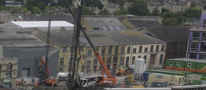 Major milestone reached in construction of Bath Quays Bridge