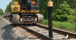 GeoSpike system for railways introduced by Geopier