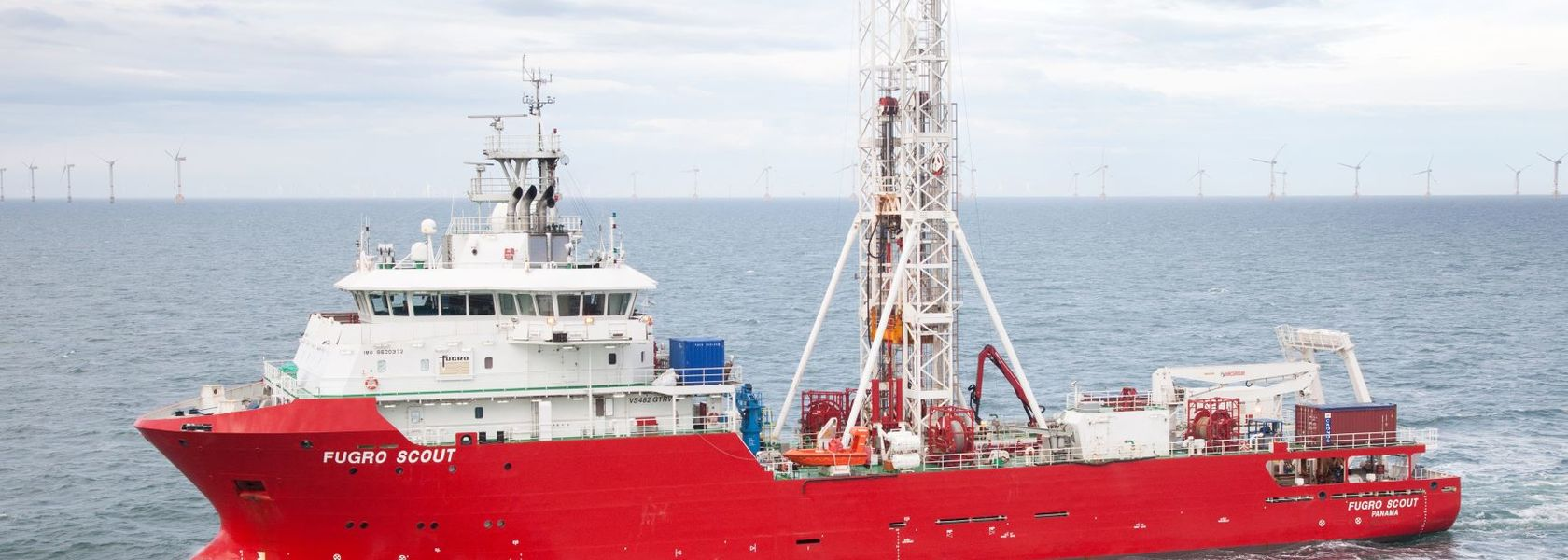 German coastal marine site characterisation project for Fugro