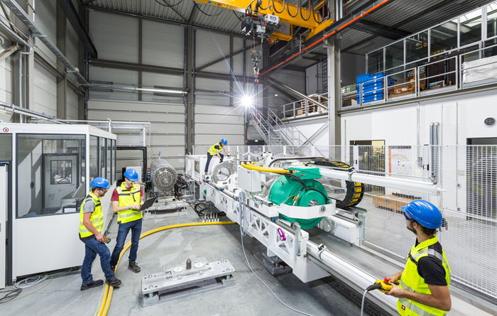 Fraunhofer IEG operates simulator for drilling at depths up to 5,000m