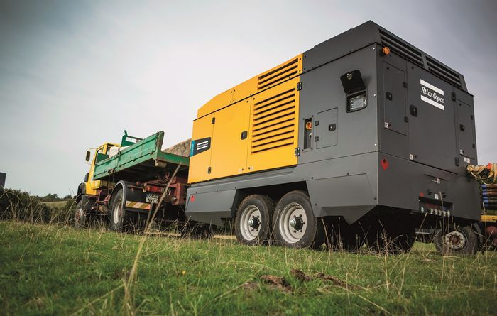 Atlas Copco DrillAir compressors with Stage V compatible diesel engines