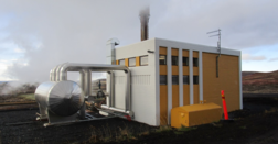 Turbine-generator package delivered to Icelandic geothermal plant