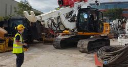 New Colets/BSP radio-controlled piling rig for Tritech