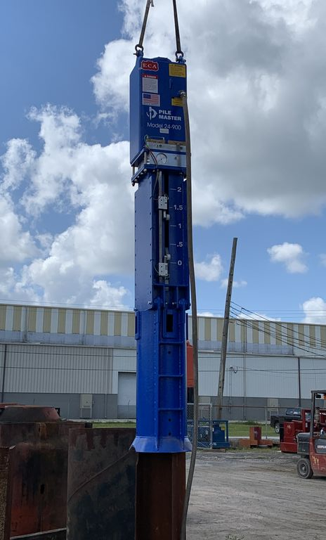 Pile Master Air Hammers hit the pile driving market