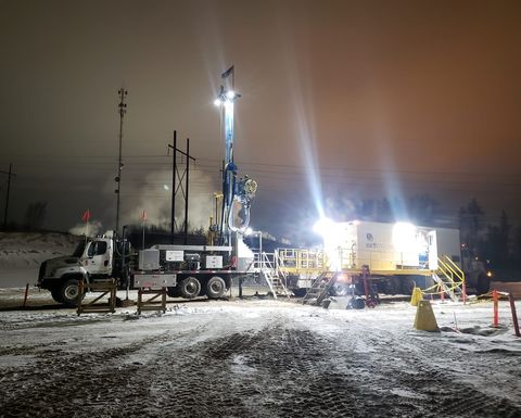Sonic rigs: a valuable tool in Canada's oil sands