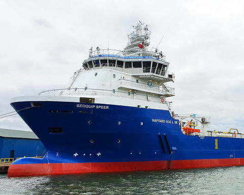 Geoquip Marine completes refurbishment of newly acquired DP2 vessel
