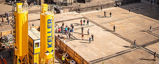 New Keller innovation to reduce cement and spoil