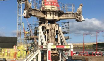 Sirius sets world record with vertical shaft sinking machine