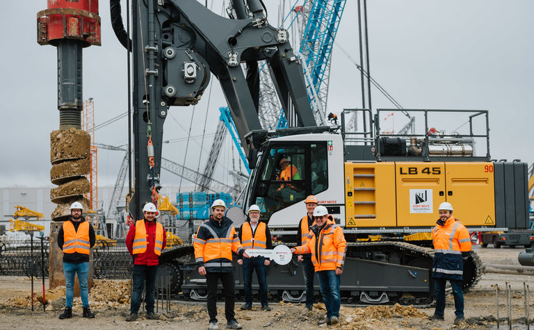 "Liebherr's new LB Series in operation - ""Expectations were high"""