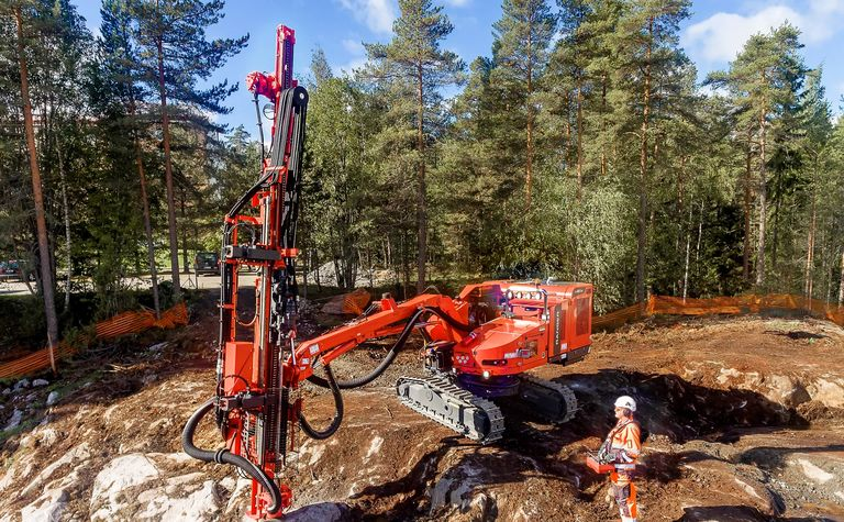 Sandvik's top hammer drilling innovations
