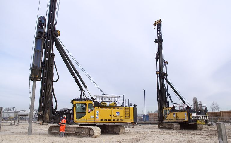Aarsleff awarded the piling for Phase Two of Segro Park Rainham