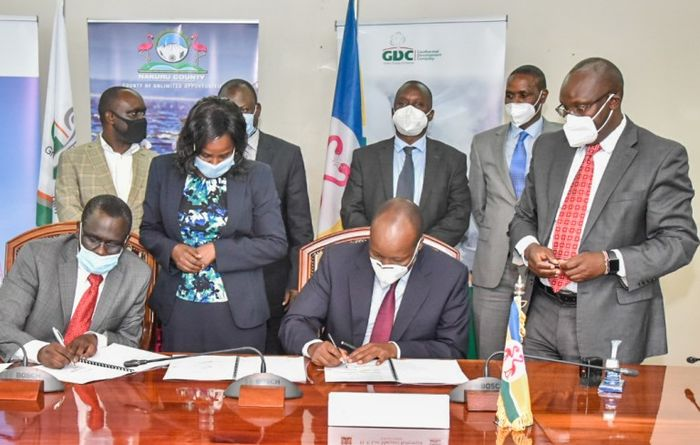 GDC and Nakuru County sign collaboration framework agreement