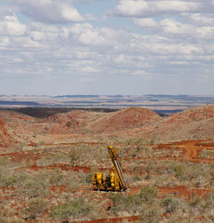 Drilling activity Down Under