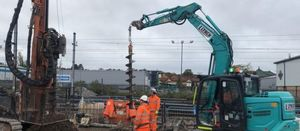 Foundations milestone at new Brent Cross railway station