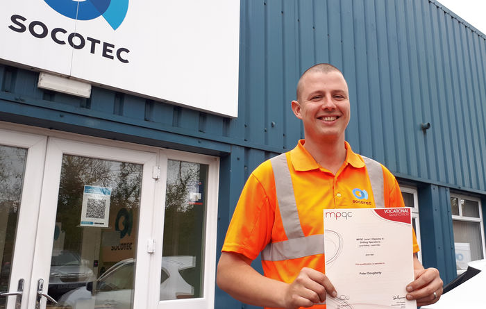 First member of Socotec's GI team graduates from Internal Drilling Academy