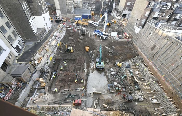 McGee's transformative work on Mayfair's oldest car park