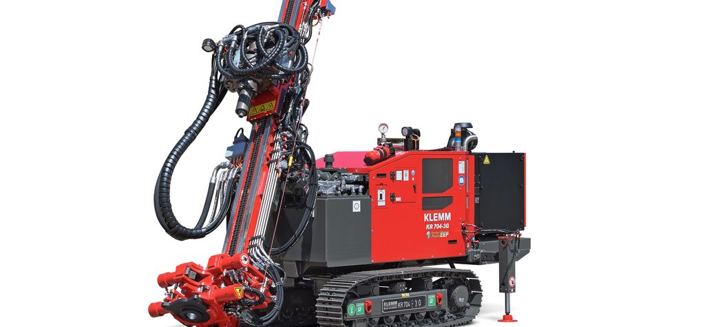 KLEMM's new drilling rig - the KR 704-3G
