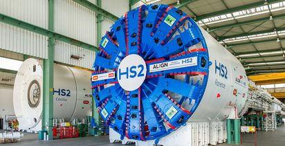 HS2 tunnelling machines names revealed