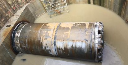 Tunnelling finishes on major UK gas supply project