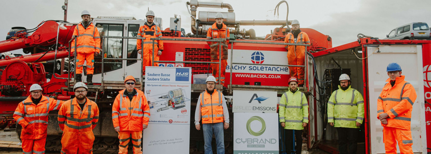 Bachy Soletanche reduces environmental impact of piling rigs