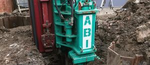 ABI's contribution to piling for a restricted basement excavation