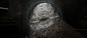 First tunnelling machine breaks ground on London super sewer