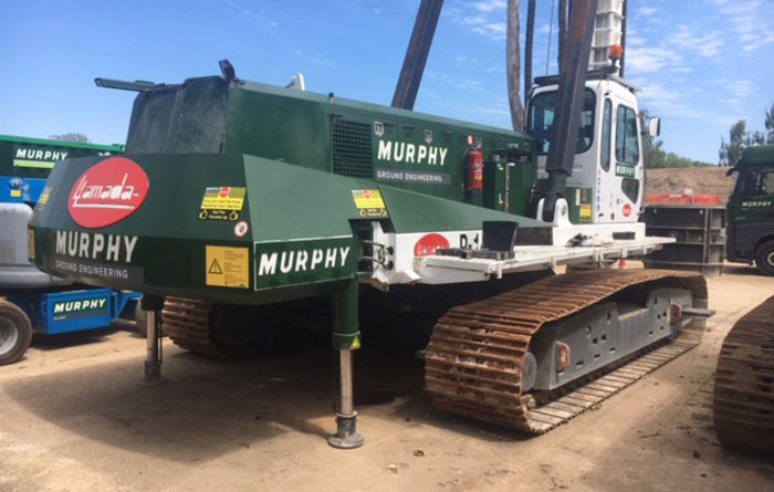 Atlas Copco helps J. Murphy & Sons improve efficiency in foundation engineering