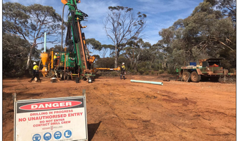 Drilling underway at the high-grade Nepean Nickel Project