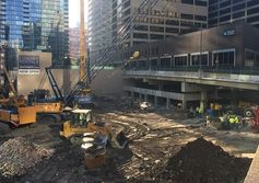 Chicago tower foundations on point