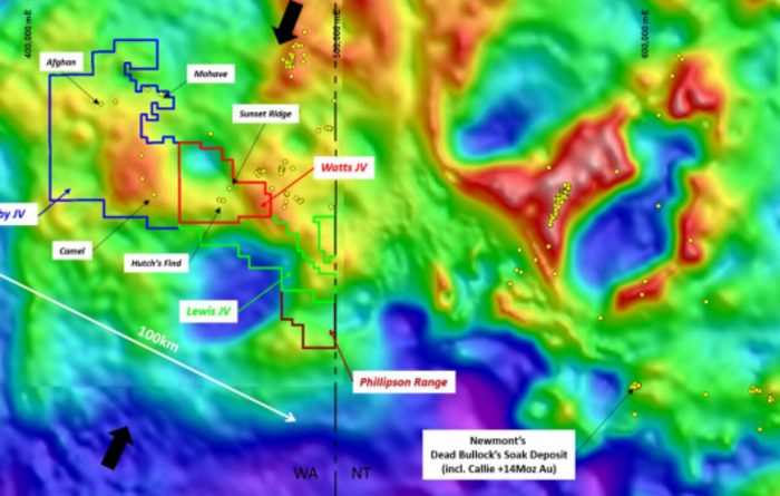 RC drilling commences in the Tanami region with Newcrest