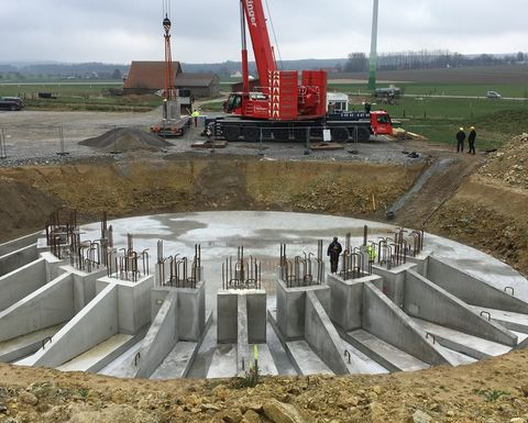 A new foundation technology for wind turbines