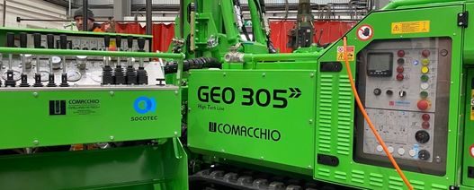 Three new drilling rigs for Socotec's Ground Investigation team