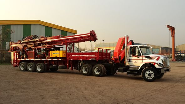 hiles ndinor has sourced nine rigs from oremost including a trailermounted 24