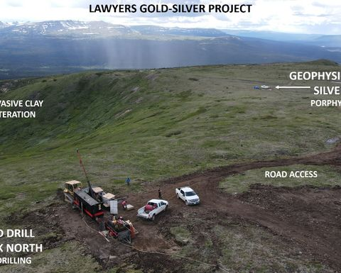 Benchmark adds a fifth drill rig at its gold-silver project
