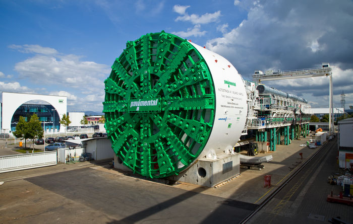 Europe's biggest boring machine breaks through in Italy