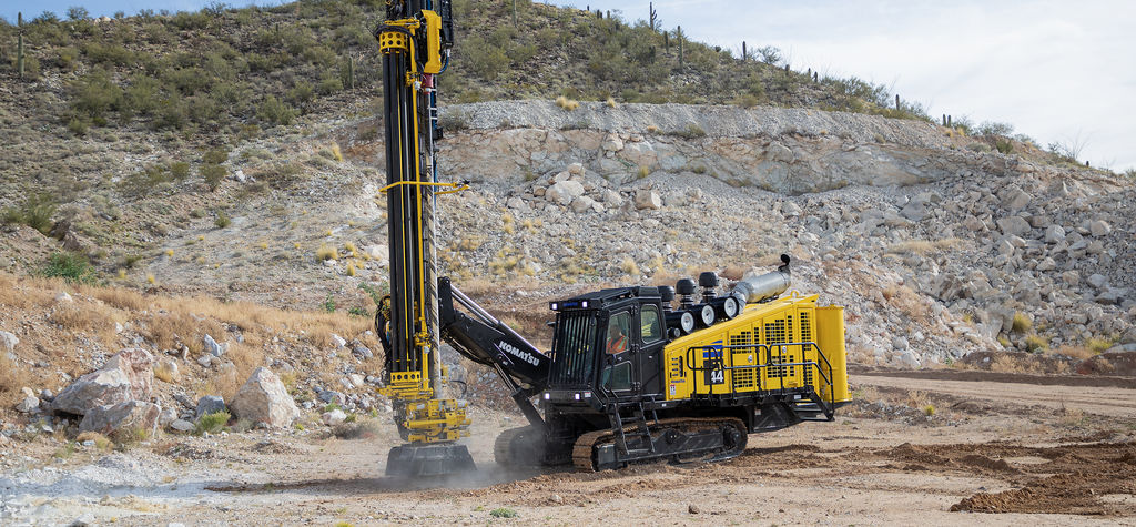 Komatsu integrated solution for quarry operations