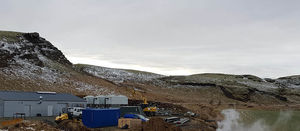 New small-scale geothermal power plant in Iceland
