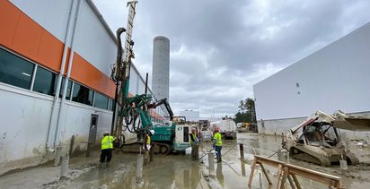 UMA supports South Carolina  manufacturer's expansion with micropiles