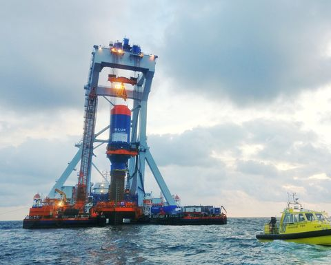 New offshore piling technique completes successful trial