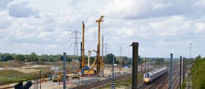 Bauer Technologies dives into Phase II of Network Rail's Werrington project