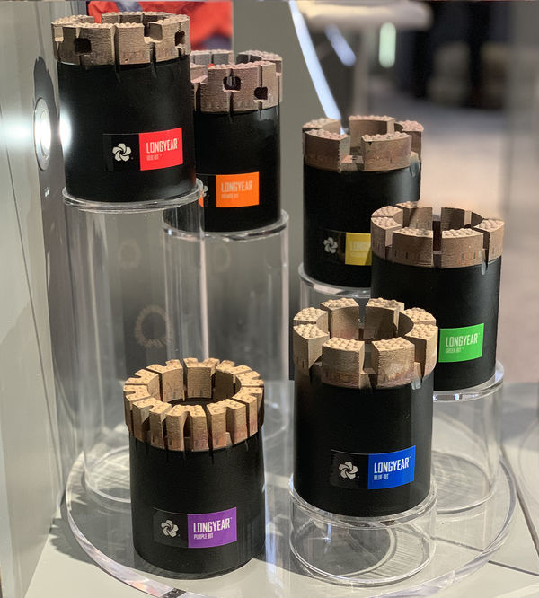 oart ongyears innovative line of ongyear diamond coring bits will be on display at auma
