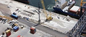 Keller company takes on a major port expansion in south Florida